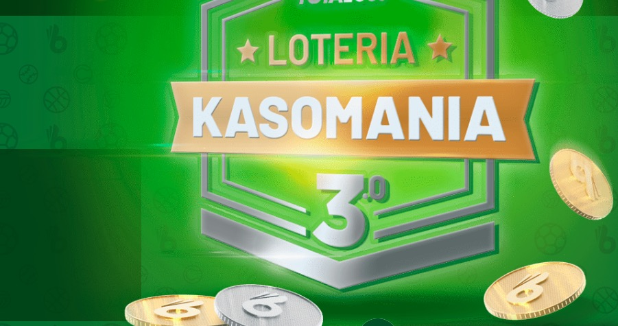 Kasomania - 3 edycja loterii w Totalbet