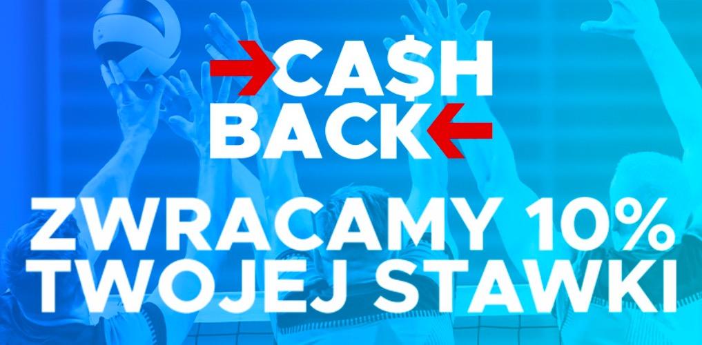 Siatkarski Cashback - nawet 500 PLN zwrotu w Betclic