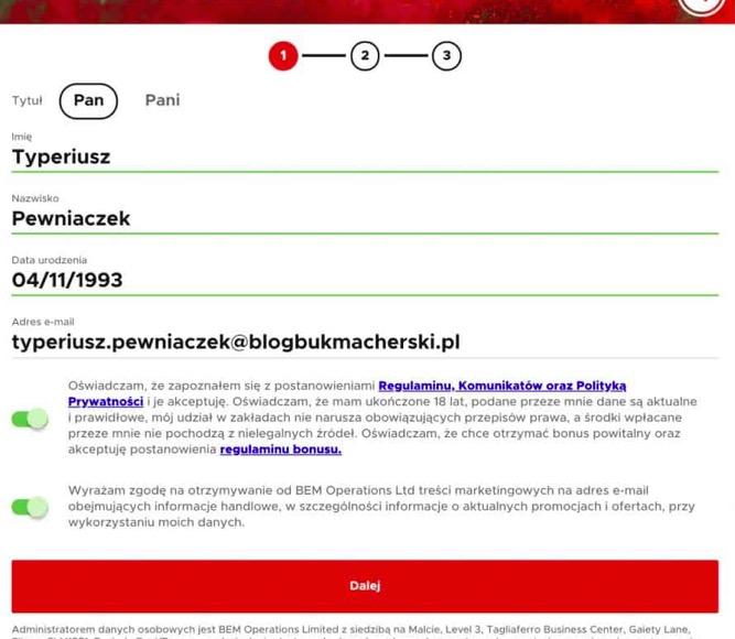 """Cashback 550 PLN za wpisanie kodu promocyjnego """"KOD550"""" w Betclic"""